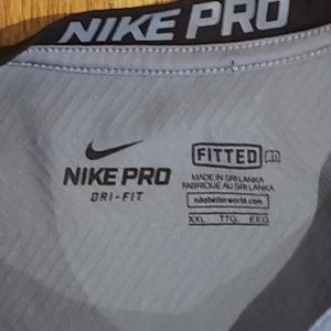 Nike Shirts - Nike Pro Performance Fitted Long Sleeve 2XL